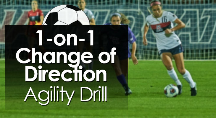 1-on-1 Change of Direction Agility Drill feature image