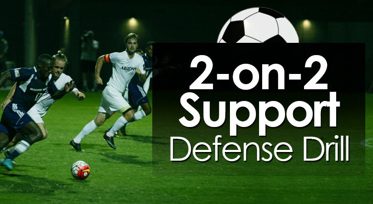 2-on-2 Support Defense Drill feature image