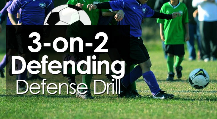 3-on-2 Defending Defense Drill feature image
