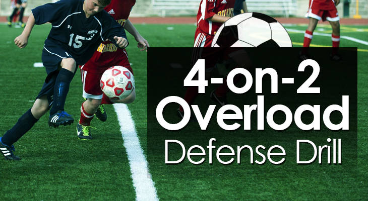4-on-2 Overload Defense Drill feature image