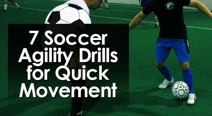 7 Soccer Agility Drills for Quick Movement feature image 01