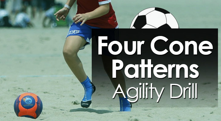 Four Cone Patterns Agility Drill feature image