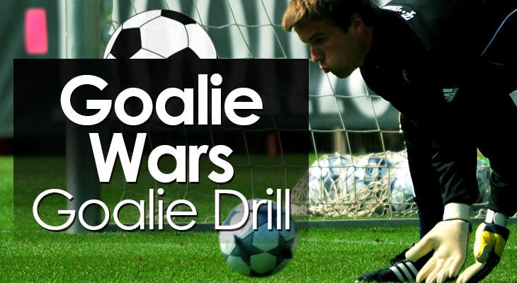 Goalie Wars Goalie Drill feature image