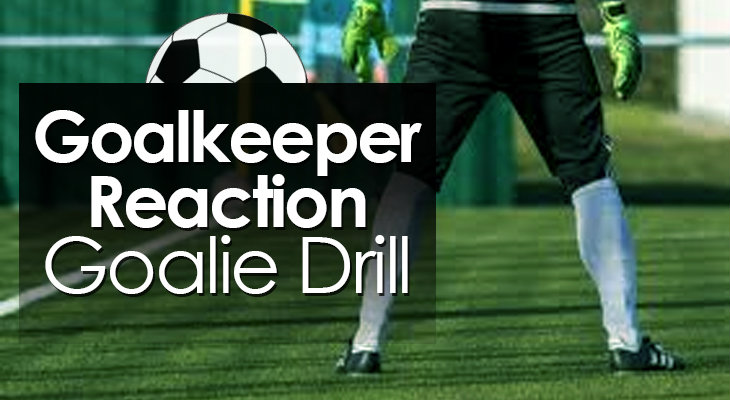 Goalkeeper Reaction Goalie Drill feature image