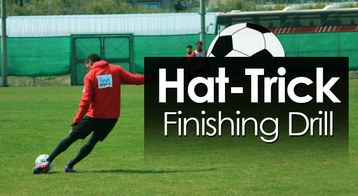 Hat-Trick Finishing Drill feature image