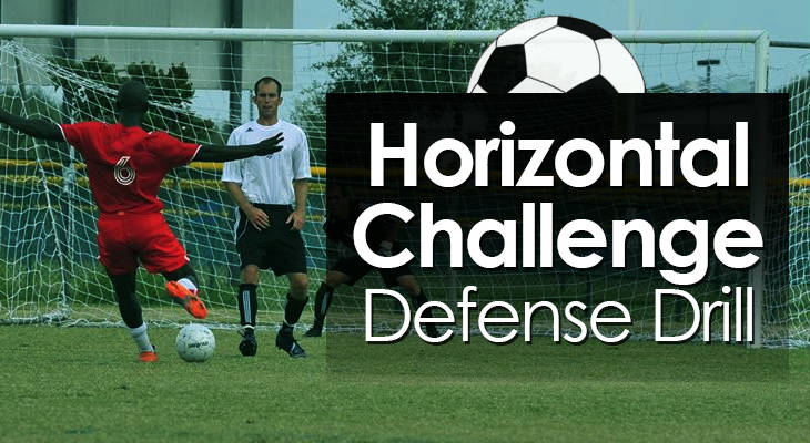 Horizontal Challenge Defense Drill feature image
