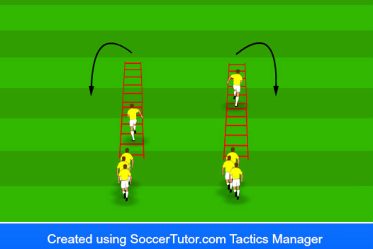 Ladder Work - Agility Drill