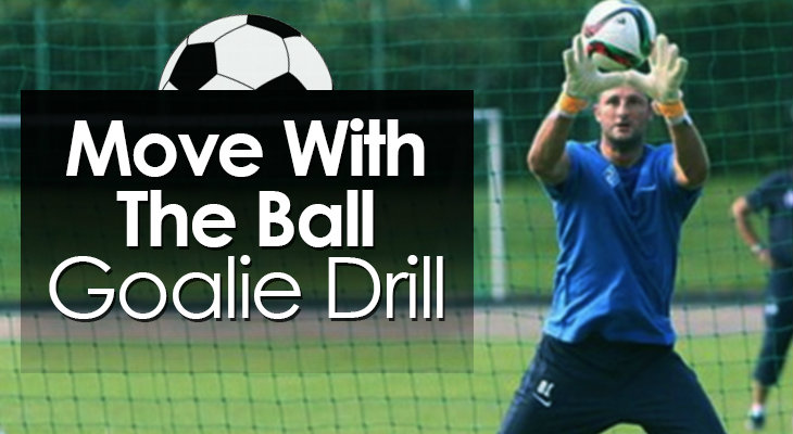 Move With The Ball Goalie Drill feature image