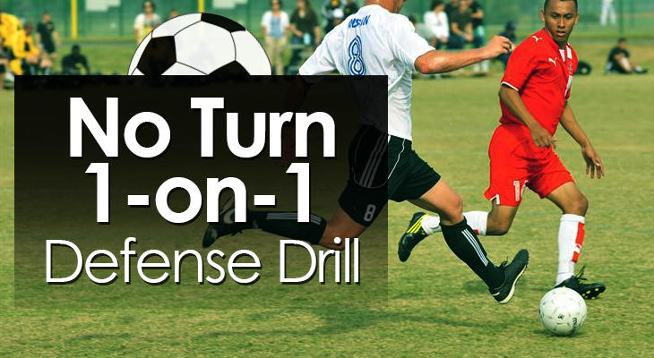 No Turn 1-on-1 Defense Drill feature image