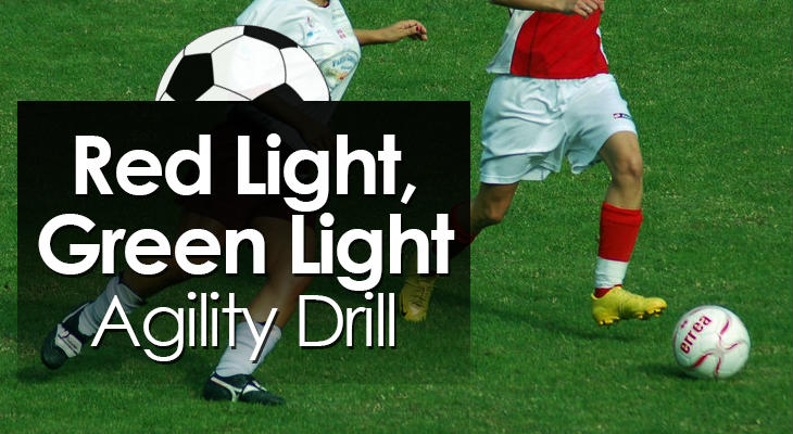 Red Light Green Light Agility Drill feature image