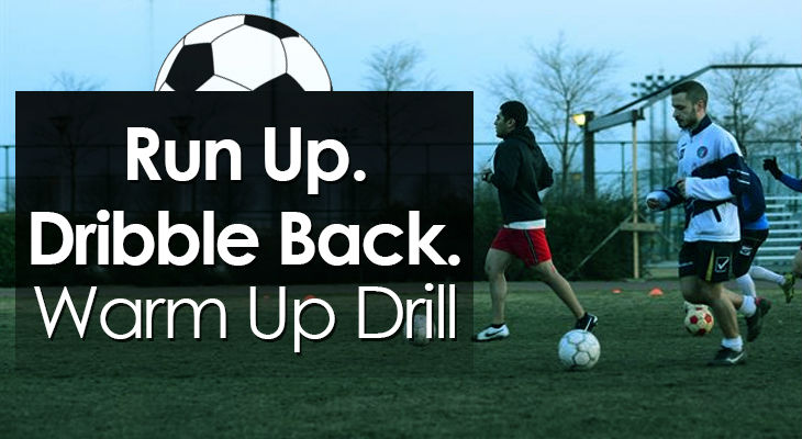 Run Up Dribble Back Warm Up Drill feature image