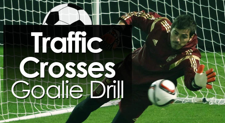 Traffic Crosses Goalie Drill feature image