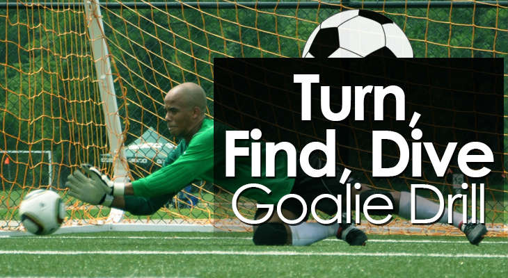 Turn Find Dive Goalie Drill feature image