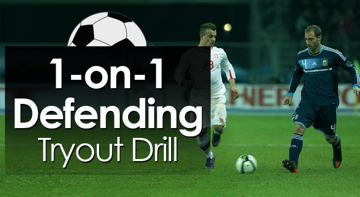 1-on-1 Defending Tryout Drill feature image
