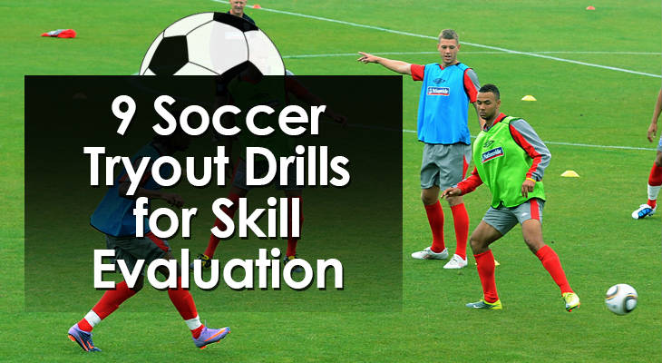 9 Soccer Tryout Drills for Skill Evaluation feature image 01