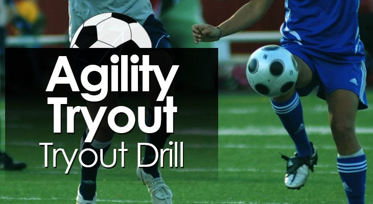 Agility Tryout Tryout Drill feature image