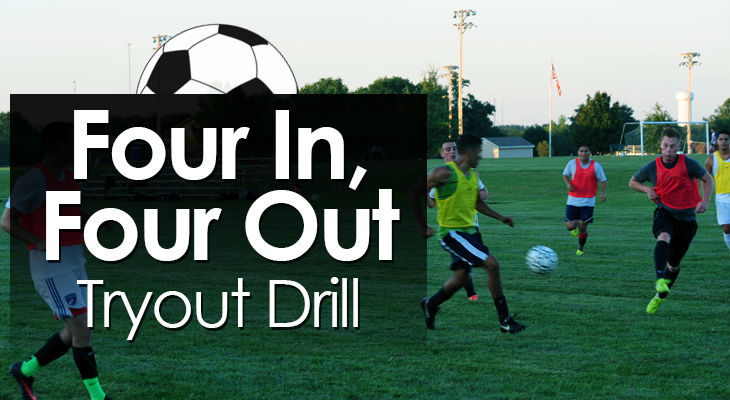 Four In Four Out Tryout Drill feature image