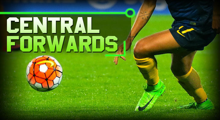 soccer positions Central Forwards