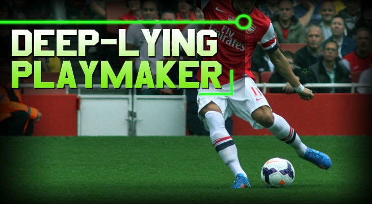 soccer positions Deep-Lying Playmaker