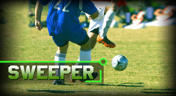 soccer positions Sweeper