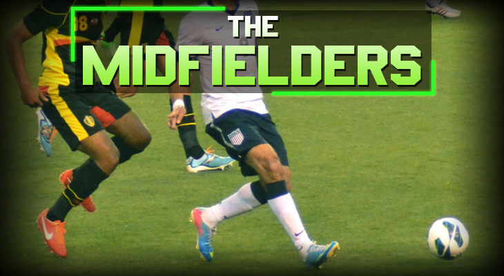 soccer positions The Midfielders
