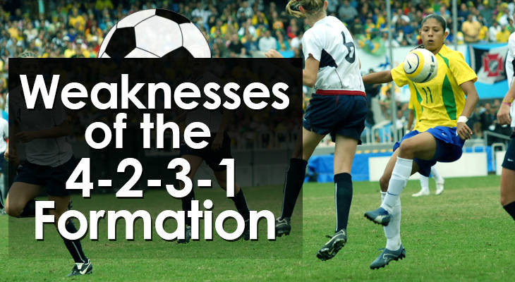 Weaknesses of the 4-2-3-1 Formation