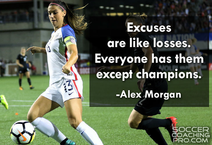 Alex Morgan Soccer Quotes