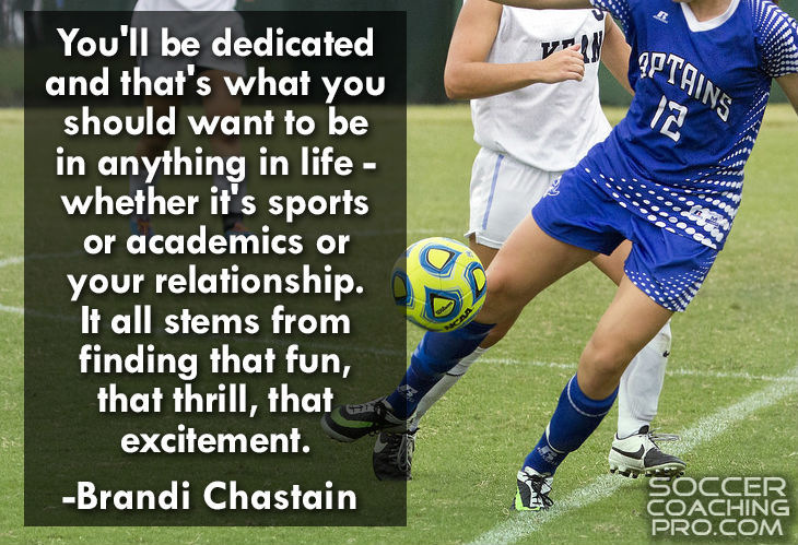 Brandi Chastain Soccer Quotes
