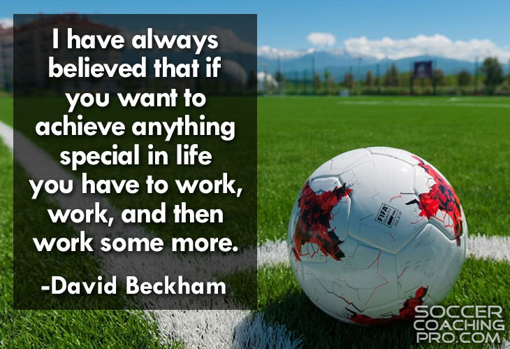 David Beckham Inspirational Soccer Quotes