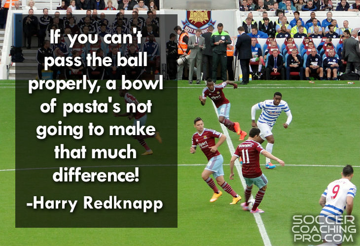 Harry Redknapp Soccer Quotes