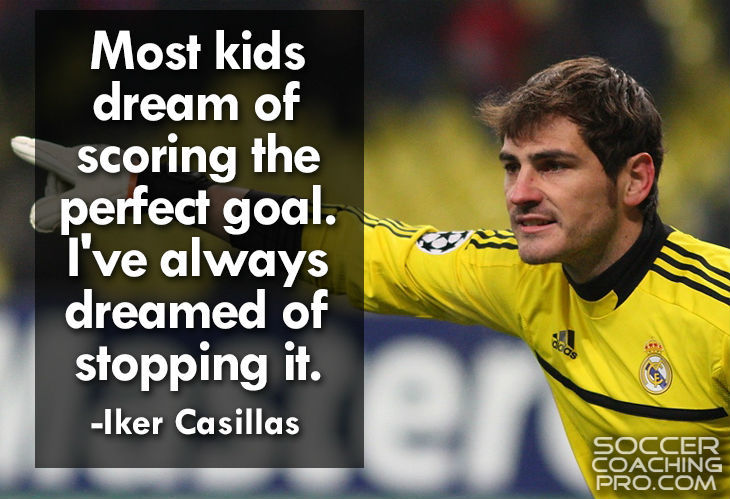 Iker Casillas Soccer Quotes