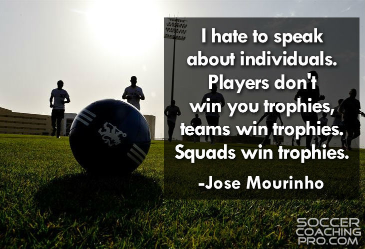 Jose Mourinho Inspirational Soccer Quotes