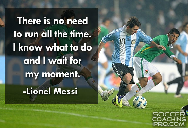 Lionel Messi Inspirational Soccer Quotes