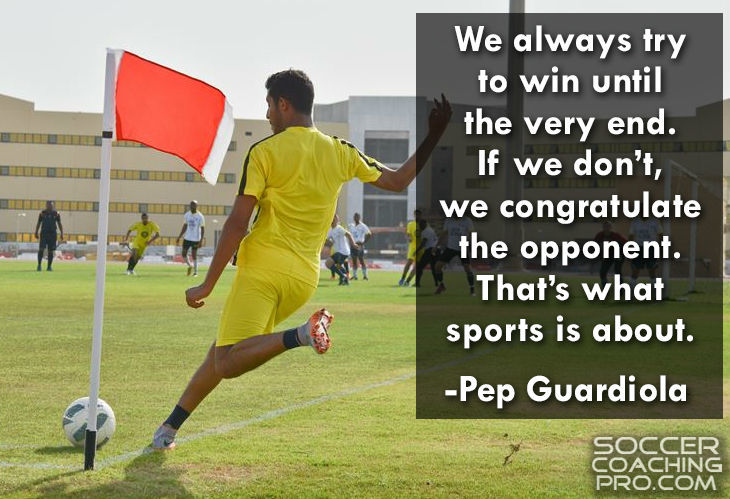 Pep Guardiola Inspirational Soccer Quotes