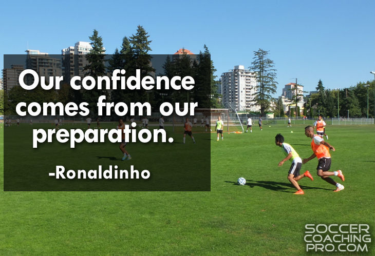 Ronaldinho Inspirational Soccer Quotes