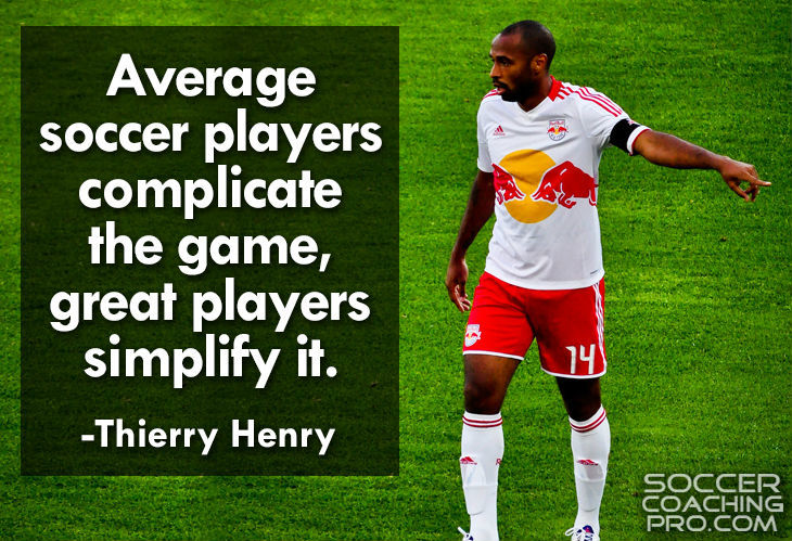 Thierry Henry Soccer Quotes