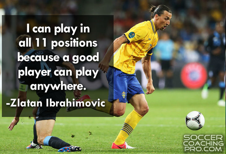 Zlatan Ibrahimovic Inspirational Soccer Quotes