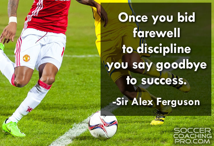 Alex Ferguson inspirational soccer quotes